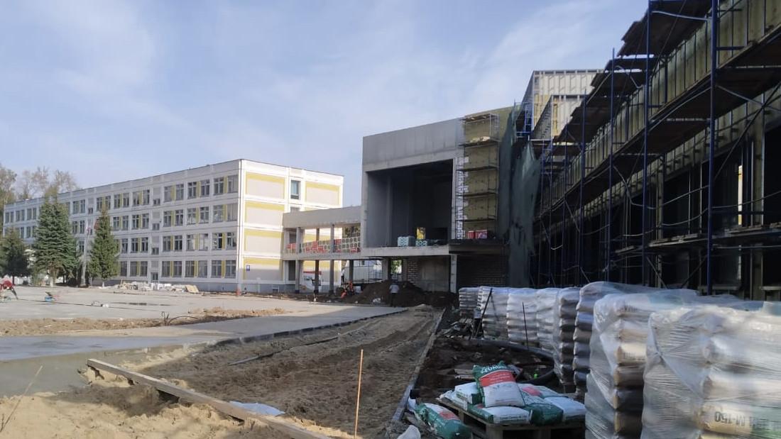 Строительство школьного корпуса на 500 мест в Королеве завершат в июле 2021 года