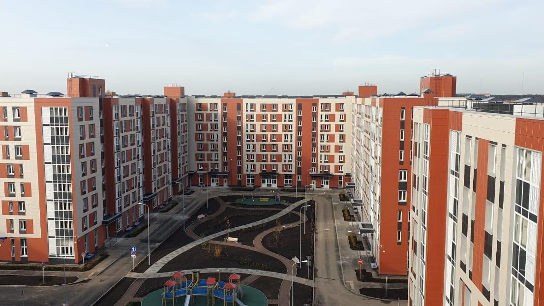 Три дома достроили в ЖК «Красногорский микрорайон»