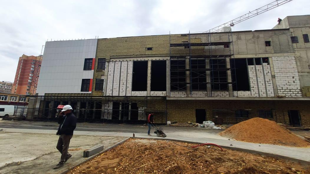Учебный корпус на 600 мест в Балашихе достроят в четвертом квартале 2020 года