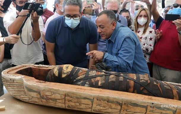 В Египте показали содержимое древних саркофагов
