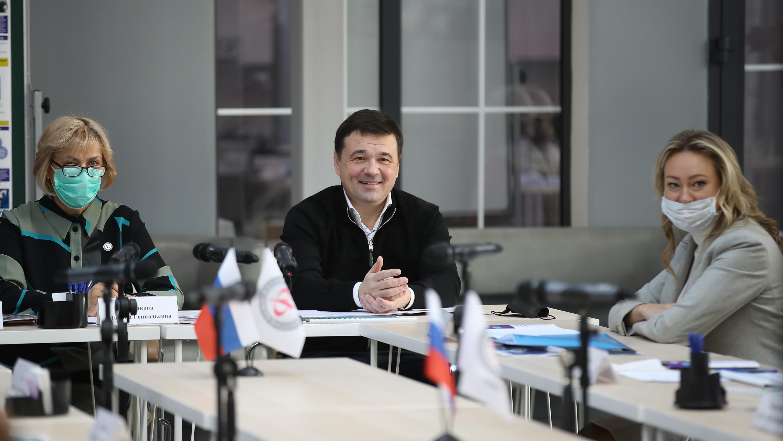 Андрей Воробьев избран председателем попечительского совета Физтех-лицея им. П. Л. Капицы