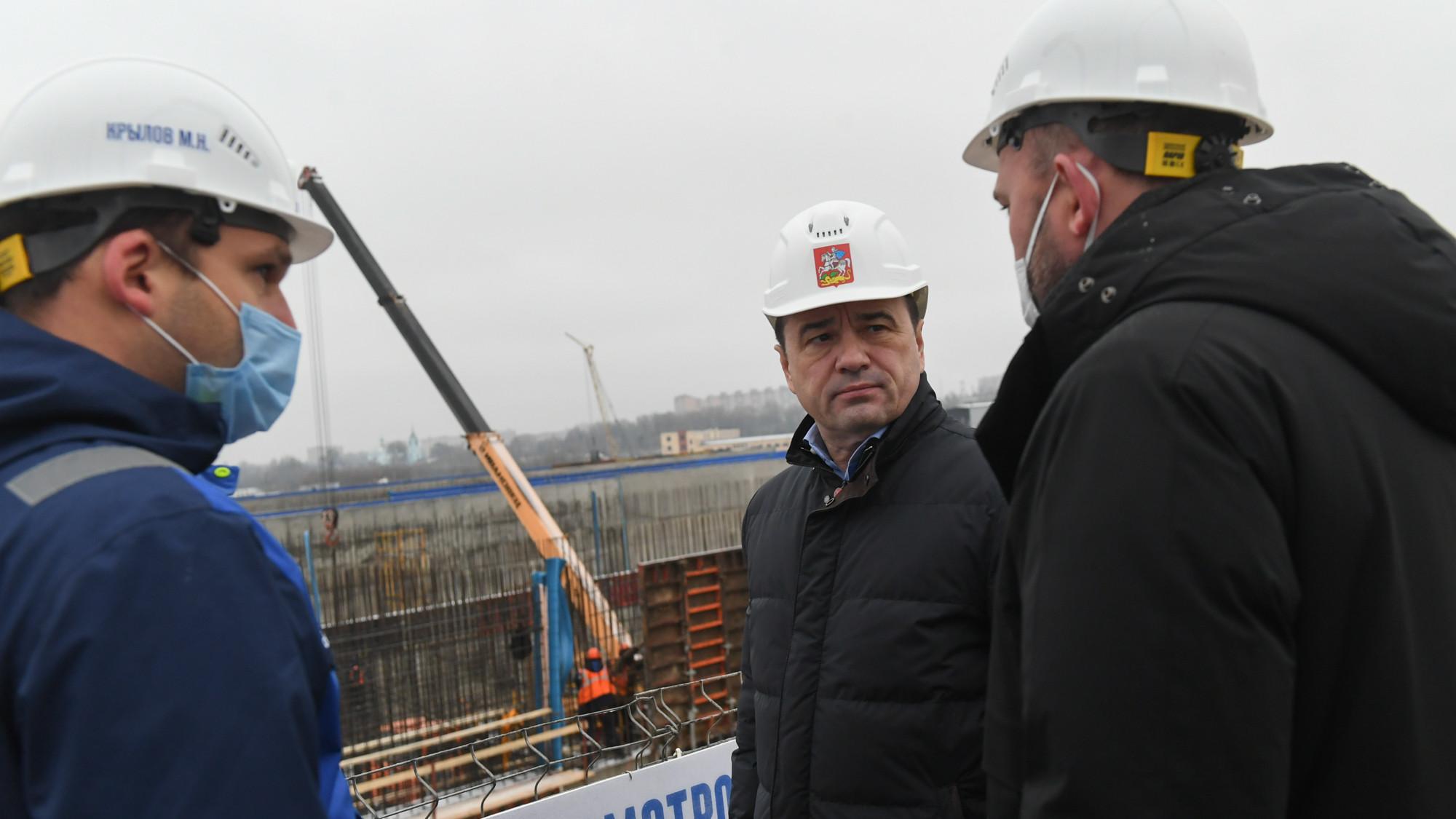 Андрей Воробьев посетил городской округ Щелково с рабочим визитом