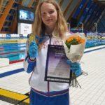 Анна Чернышева с рекордом завоевала золотую медаль чемпионата России по плаванию