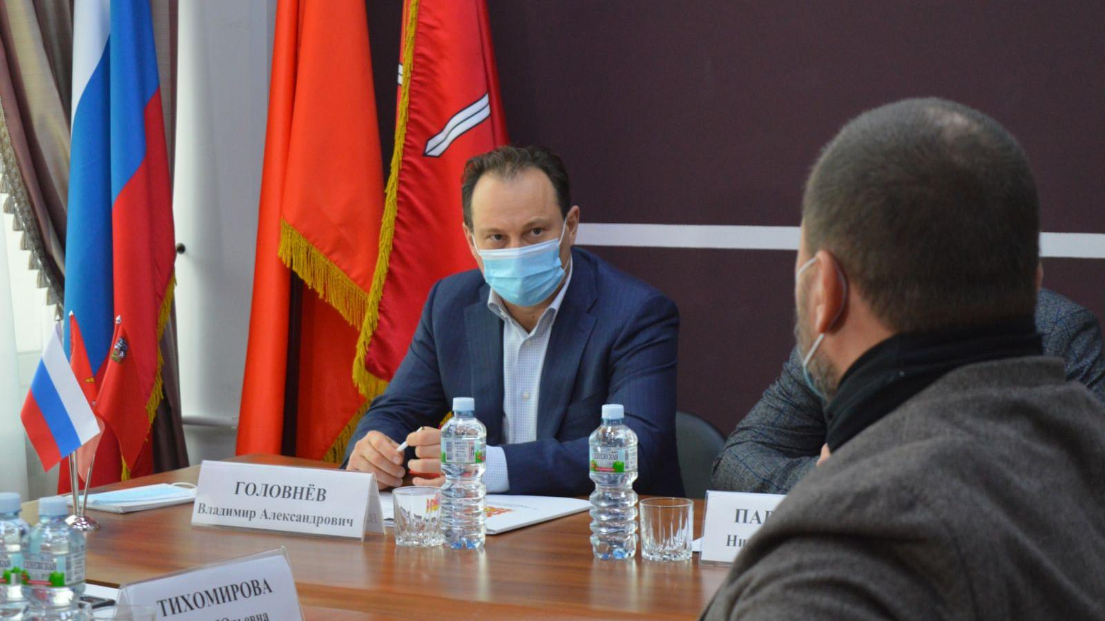 Бизнес-омбудсмен Подмосковья провел прием предпринимателей в Рузском городском округе