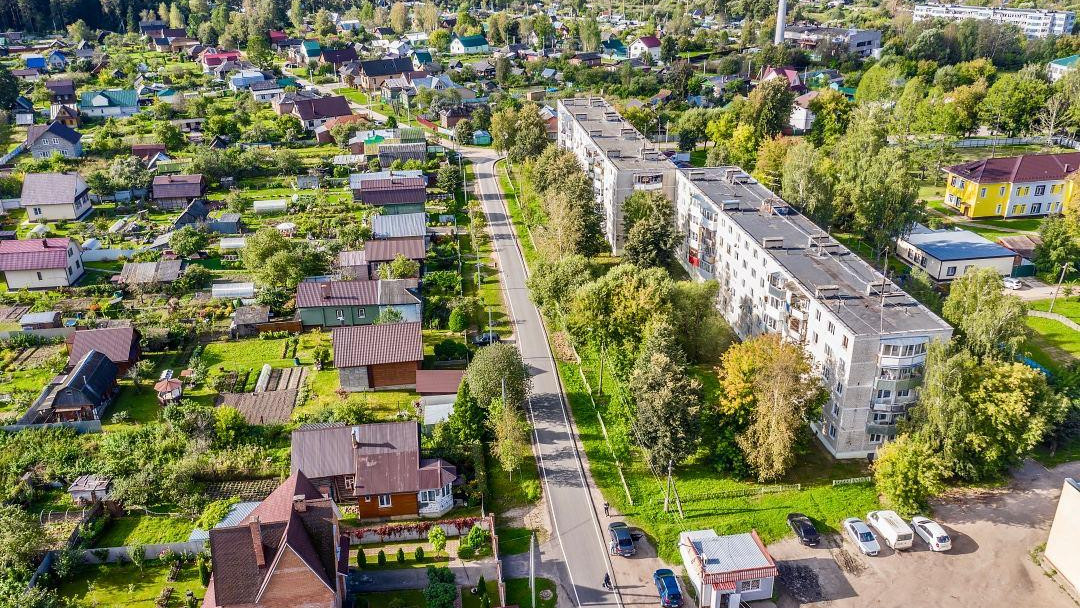 Благоустройство пешеходных зон завершили в поселке Вербилки Талдомского округа