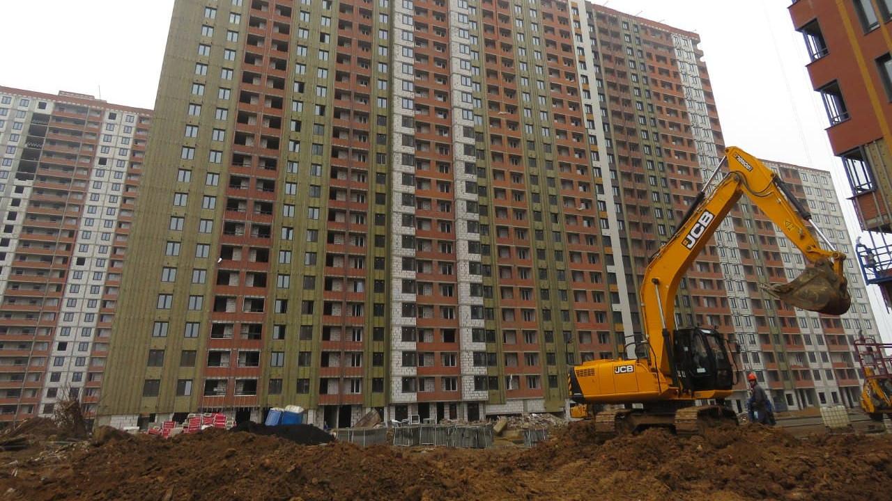 Более 200 многоквартирных домов начали строить в Подмосковье в 2020 году