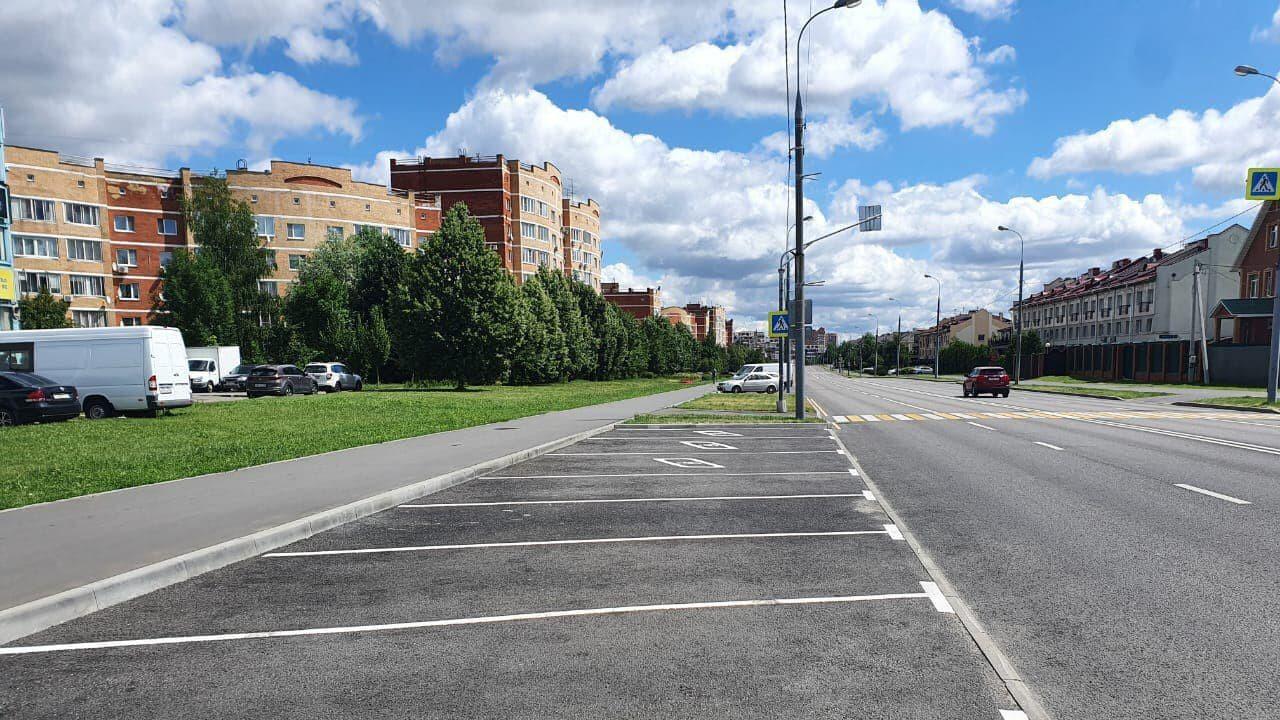 Более 50 новых парковок у медучреждений появилось в Подмосковье в этом году