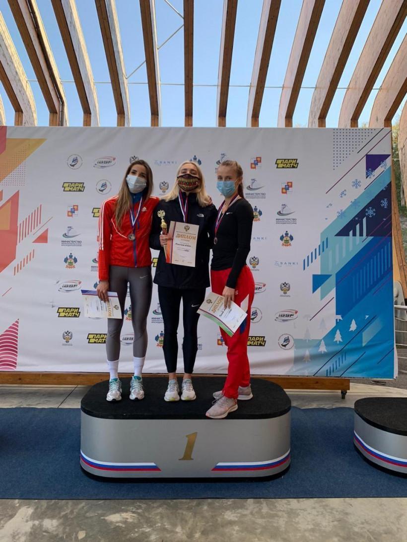 Елена Никитина взяла золото на Кубке России по скелетону