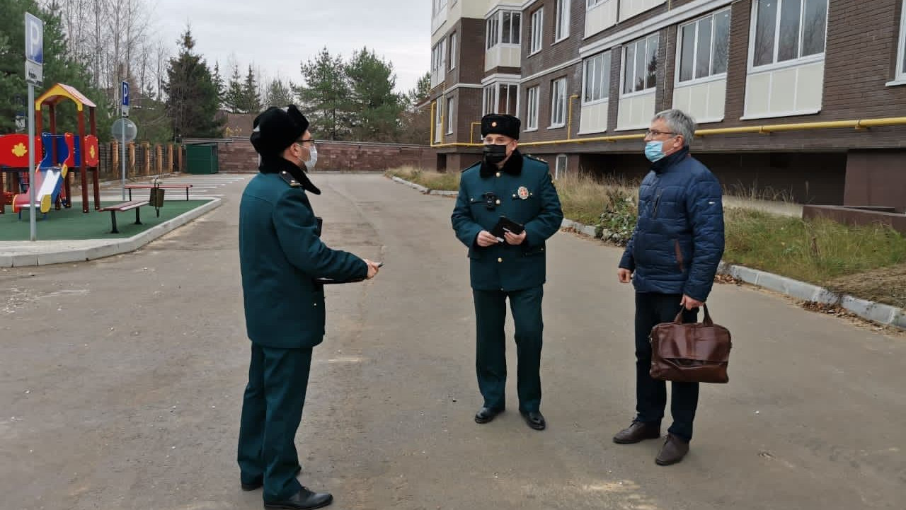 Главгосстройнадзор начал итоговую проверку жилого дома в Одинцове