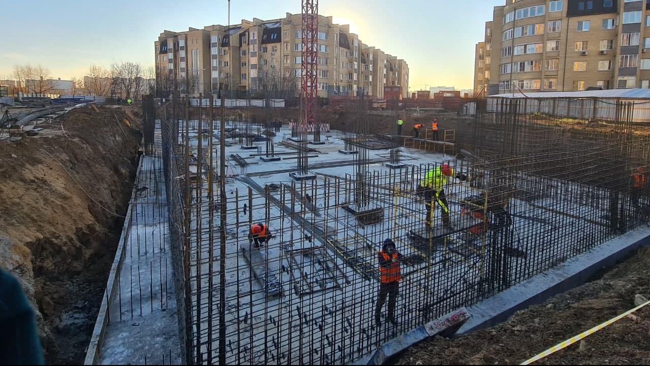 Главгосстройнадзор проверил ход строительства ФОКа в Мытищах