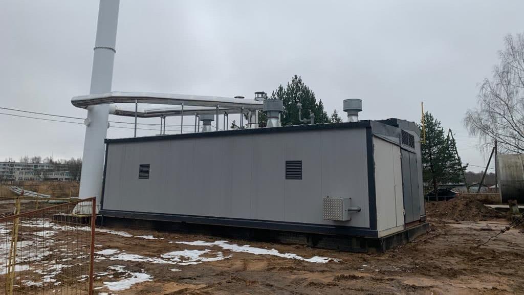 Главгосстройнадзор проверяет ход строительства котельной в Сергиево-Посадском округе