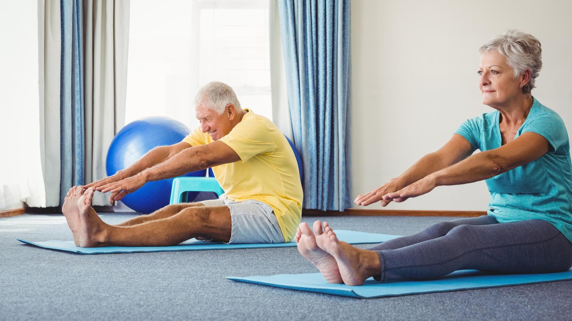 Тренировки «Активного долголетия»
