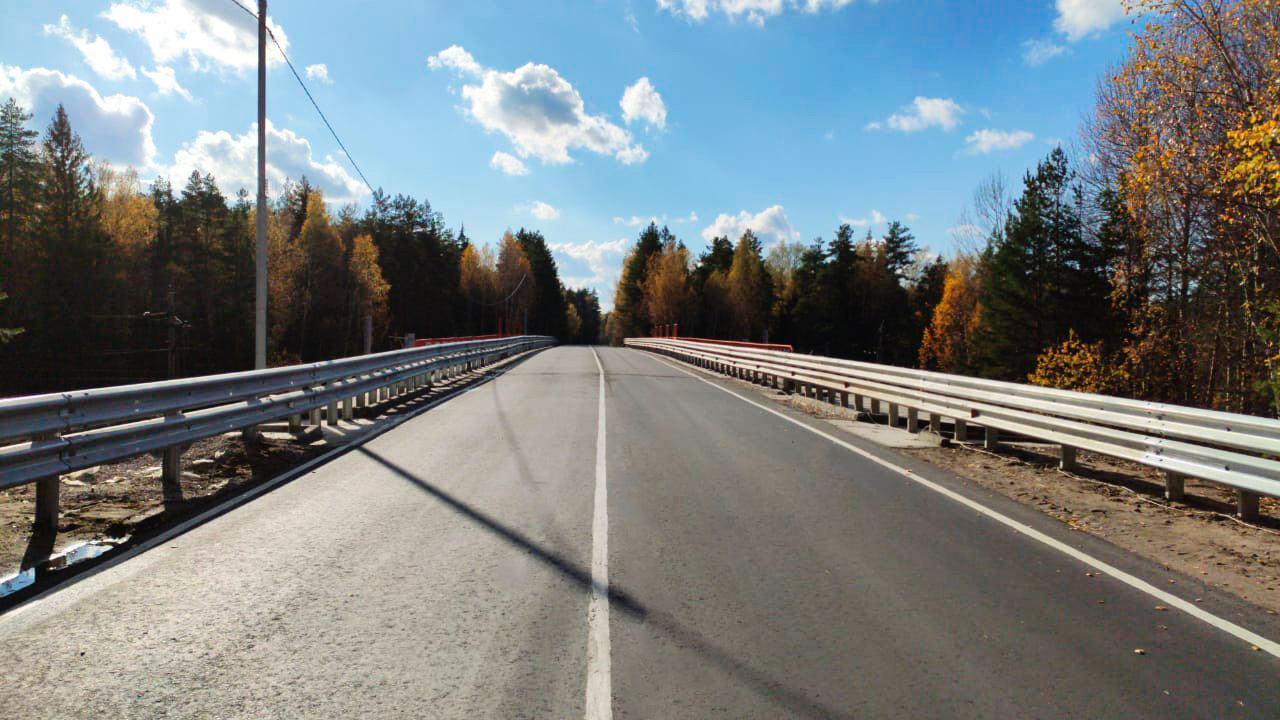 Путепровод на Шатурском шоссе отремонтировали в Орехово-Зуевском округе