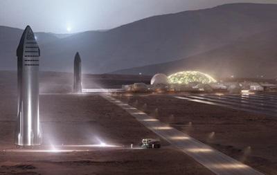 Илон Маск рассказал, как будут жить на Марсе первые колонисты