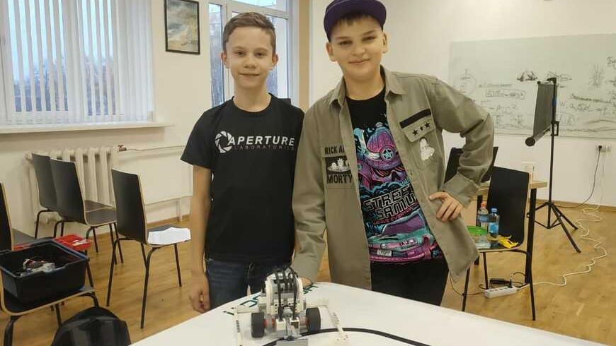 Команда юных робототехников Люберец заняла призовое место на европейском фестивале