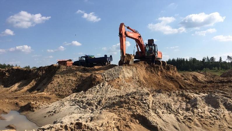 Компанию оштрафовали за нарушение условий лицензии на добычу ископаемых в Чехове