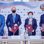 Минспорт России и РФС подписали Соглашение о развитии футбола с Ханты-Мансийским автономным округом – Югрой
