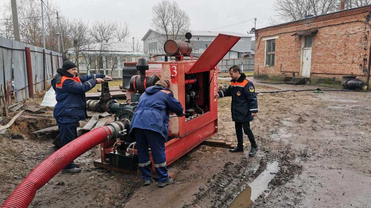 Московская областная аварийно-восстановительная служба празднует 14-летие