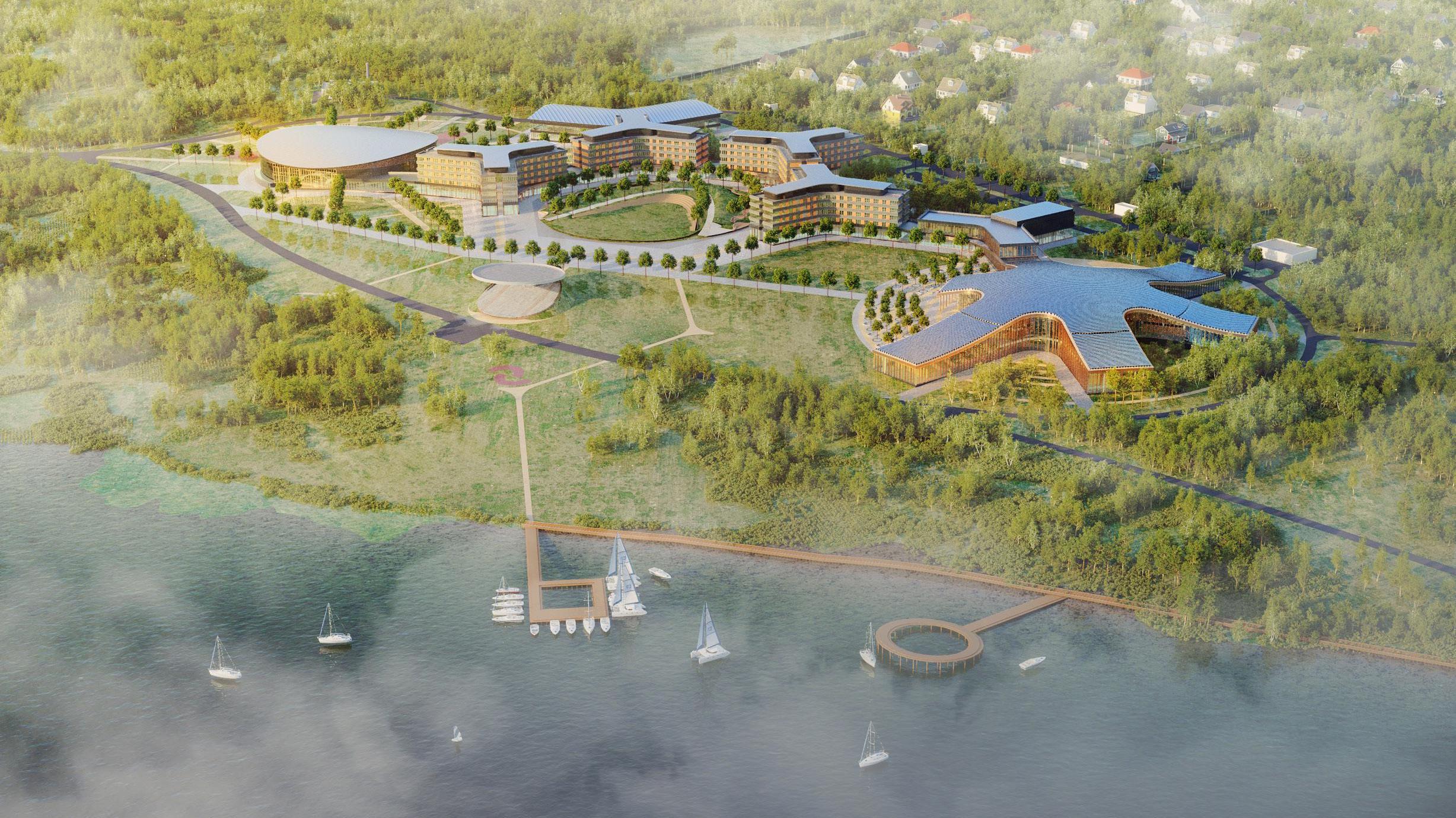 Мособлархитектура согласовала проект образовательного центра Мастерской управления «Сенеж»