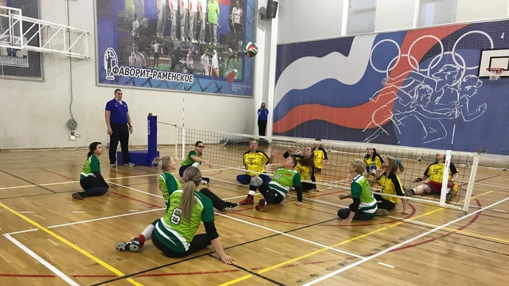 Мужская и женская сборные Подмосковья стали призерами чемпионата России по волейболу сидя