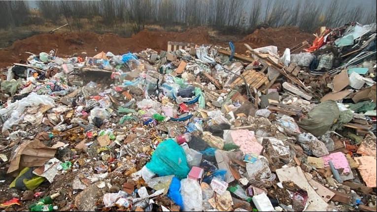 Незаконное размещение отходов пресекли в Дмитровском округе