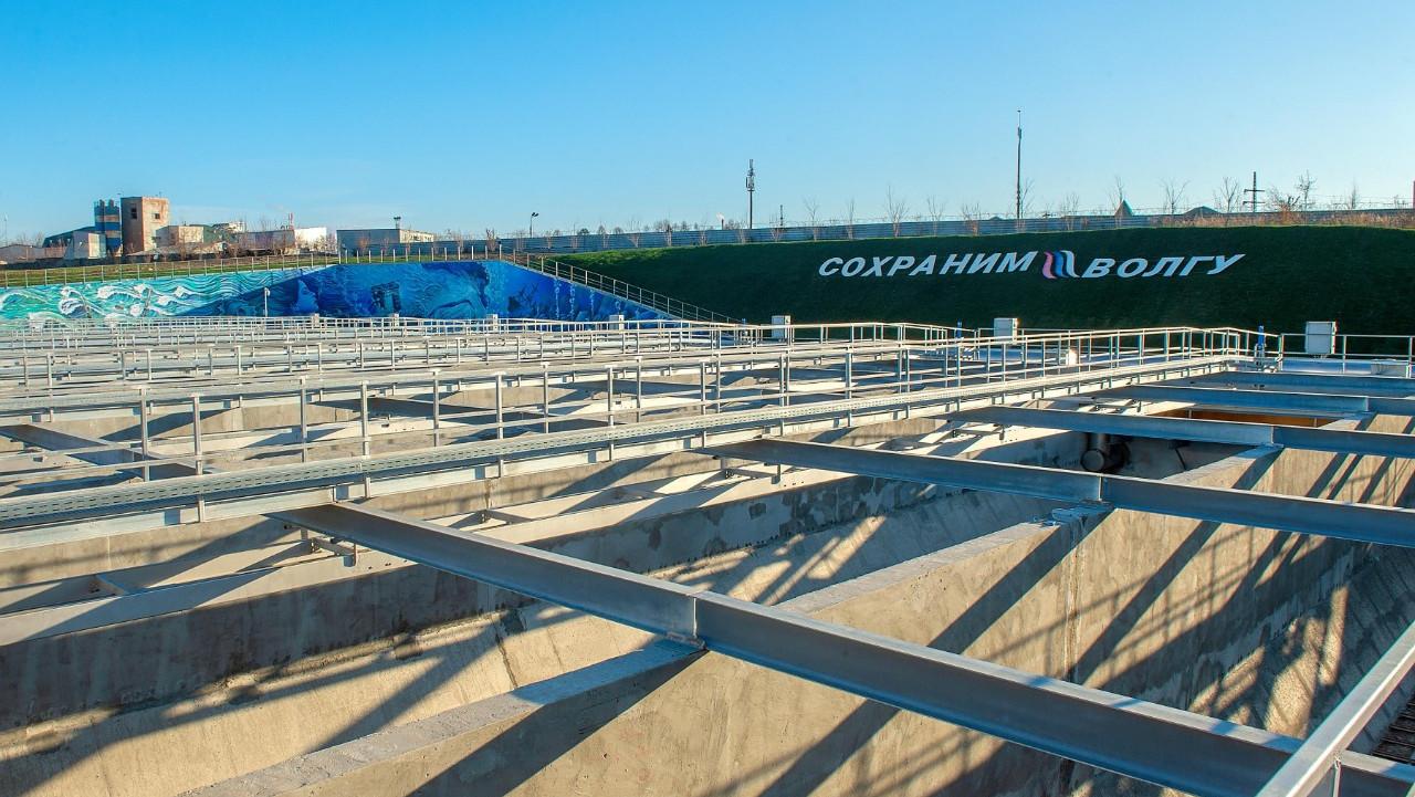 Очистные сооружения досрочно ввели в эксплуатацию после реконструкции в Подольске