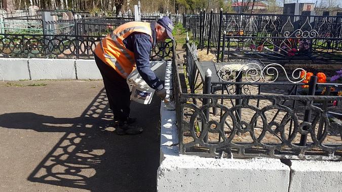 Период благоустройства мест захоронений завершился в Подмосковье
