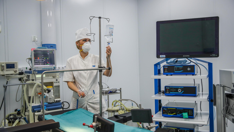Почти 23% коек для пациентов с коронавирусом свободно в Московской области