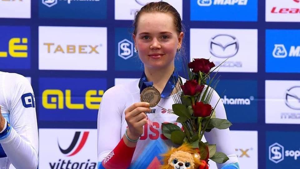 Подмосковная спортсменка стала бронзовым призером чемпионата Европы по велоспорту