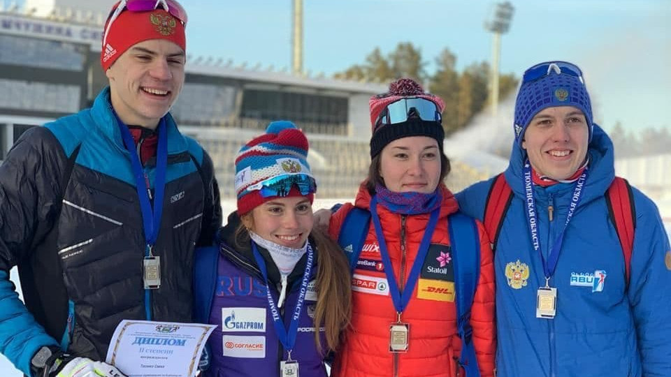 Подмосковные биатлонисты завоевали серебряные медали на всероссийских соревнованиях