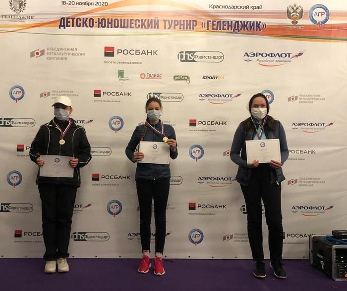 Подмосковные гольфисты стали призёрами турнира в Геленджике