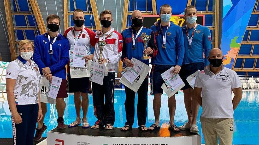 Подмосковные спортсмены завоевали 7 медалей на международных соревнованиях по прыжкам в воду