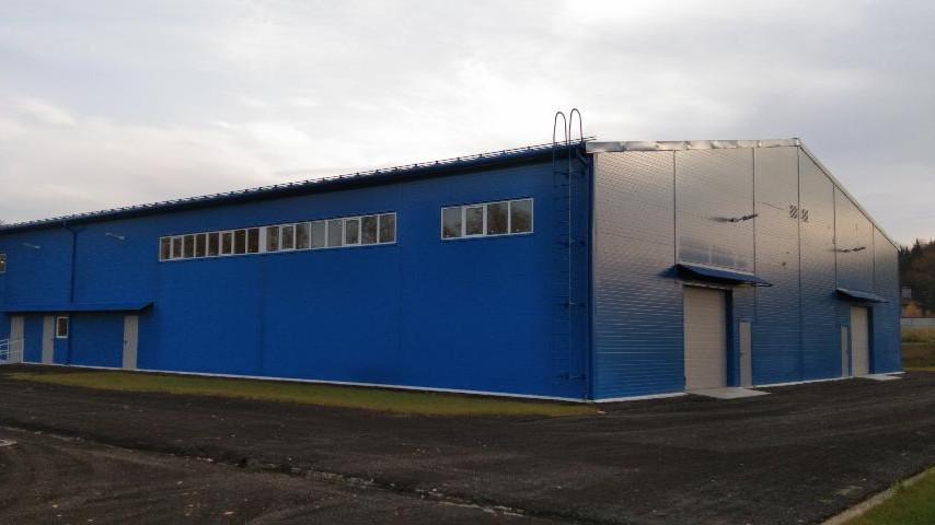 Производственно-складское здание построили в Дмитровском округе