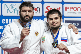 Российские дзюдоисты завоевали семь медалей на Чемпионате Европы