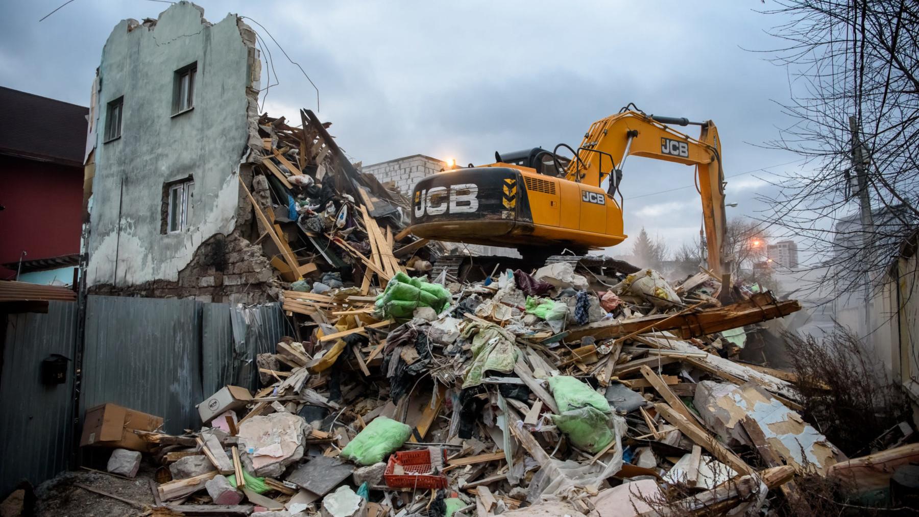 Самовольную постройку демонтировали в Балашихе