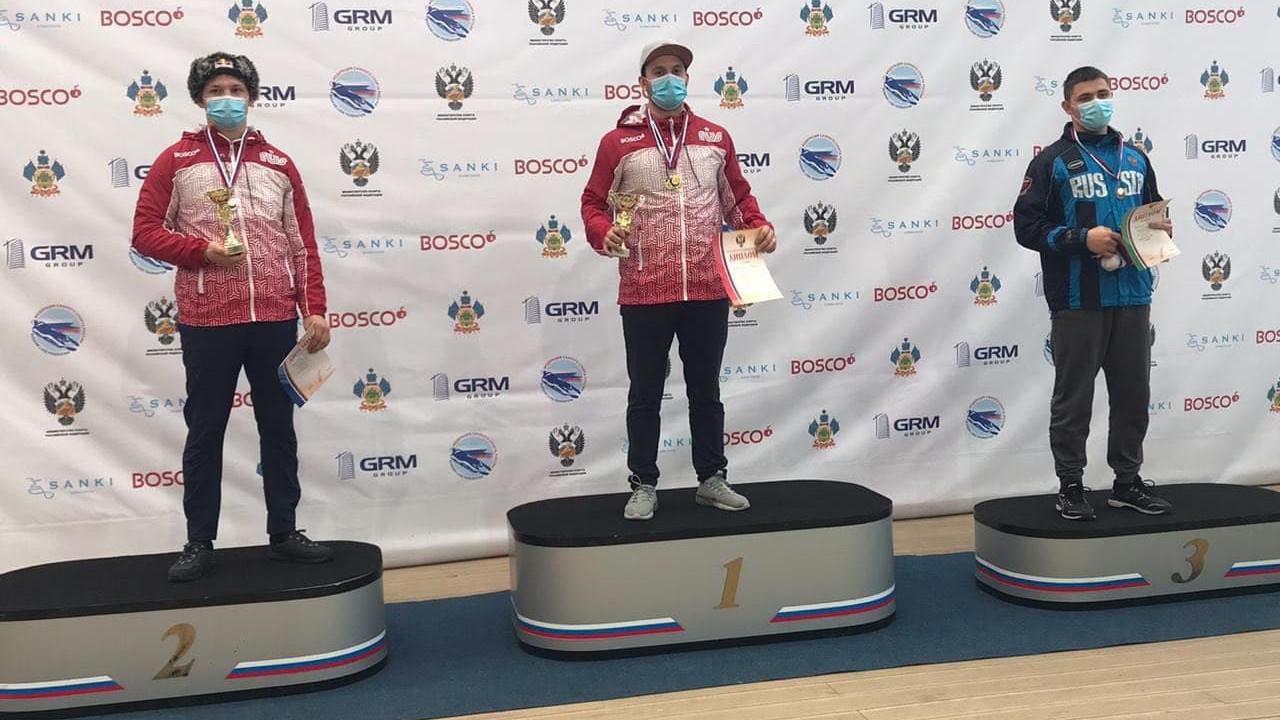 Саночники из Московской области завоевали 6 медалей Кубка России
