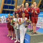 Сборная Московской области по синхронному плаванию стала чемпионом России в Олимпийской программе