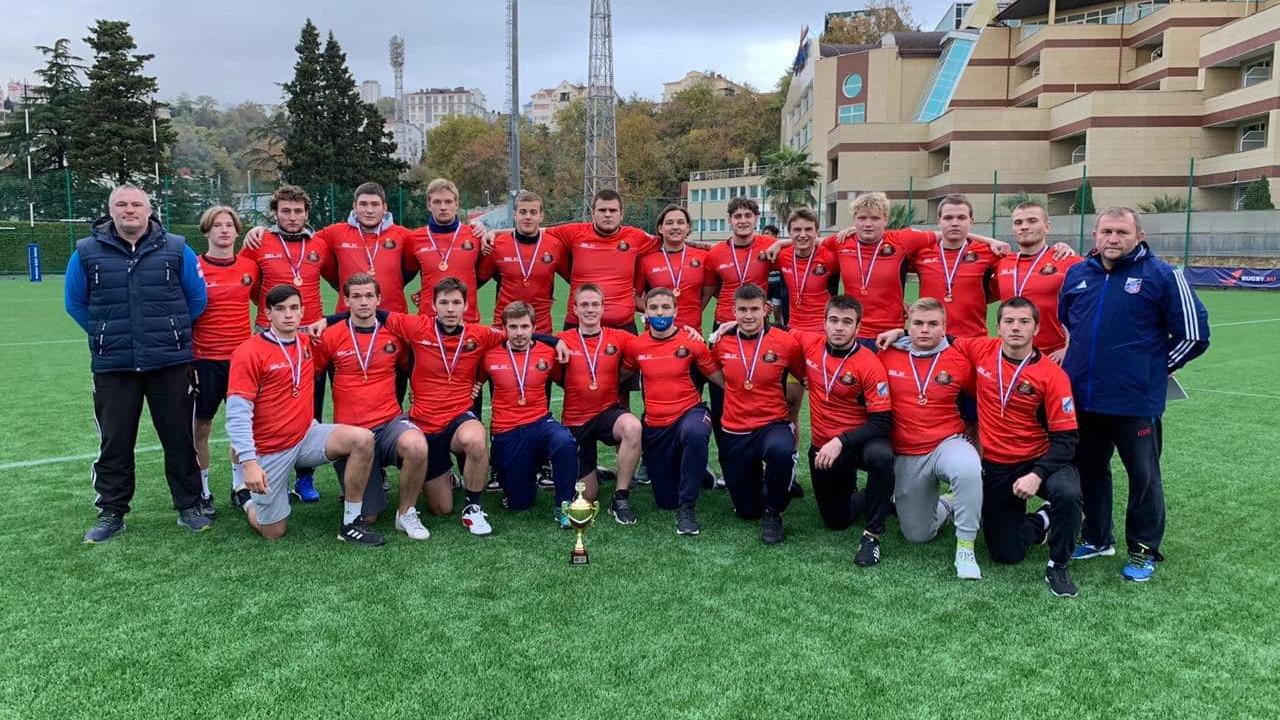 Сборная Московской области стала бронзовым призером первенства России по регби