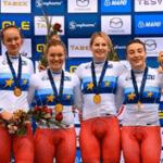 Сборная России по велоспорту на треке завоевала 13 медалей на Чемпионате Европы