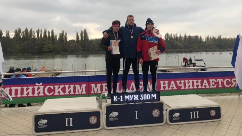 Спортсмен из Подмосковья завоевал бронзу на Кубке России по гребле на байдарках и каноэ