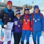 Спортсмены из Московской области завоевали серебряные медали на всероссийских соревнованиях по биатлону