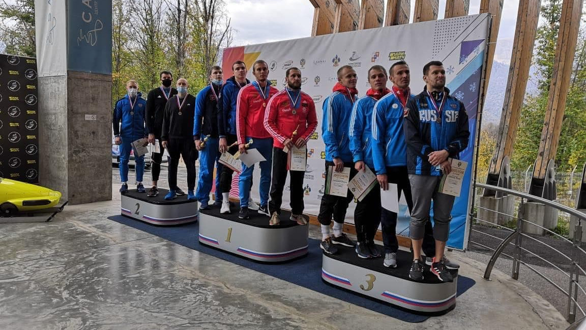 Спортсмены из Подмосковья завоевали 7 медалей Кубка России по бобслею