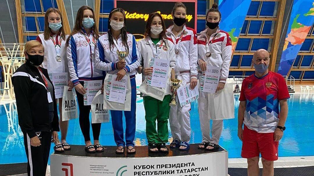 Спортсмены региона завоевали 8 наград на международных соревнованиях по прыжкам в воду