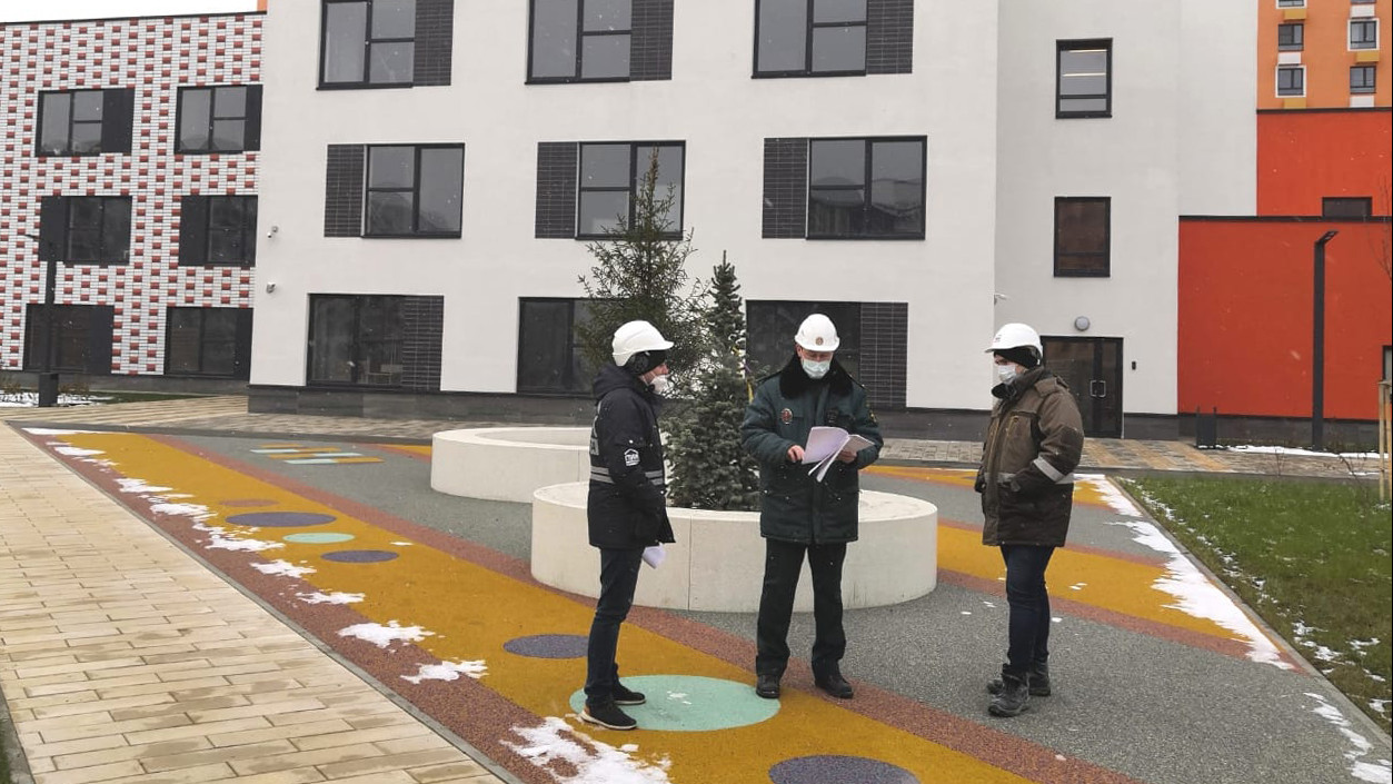 Строительство детского сада на 200 мест завершилось в Красногорске