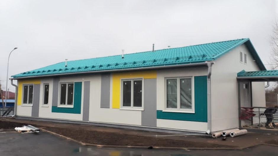 Строительство ФАПа завершается в Раменском округе