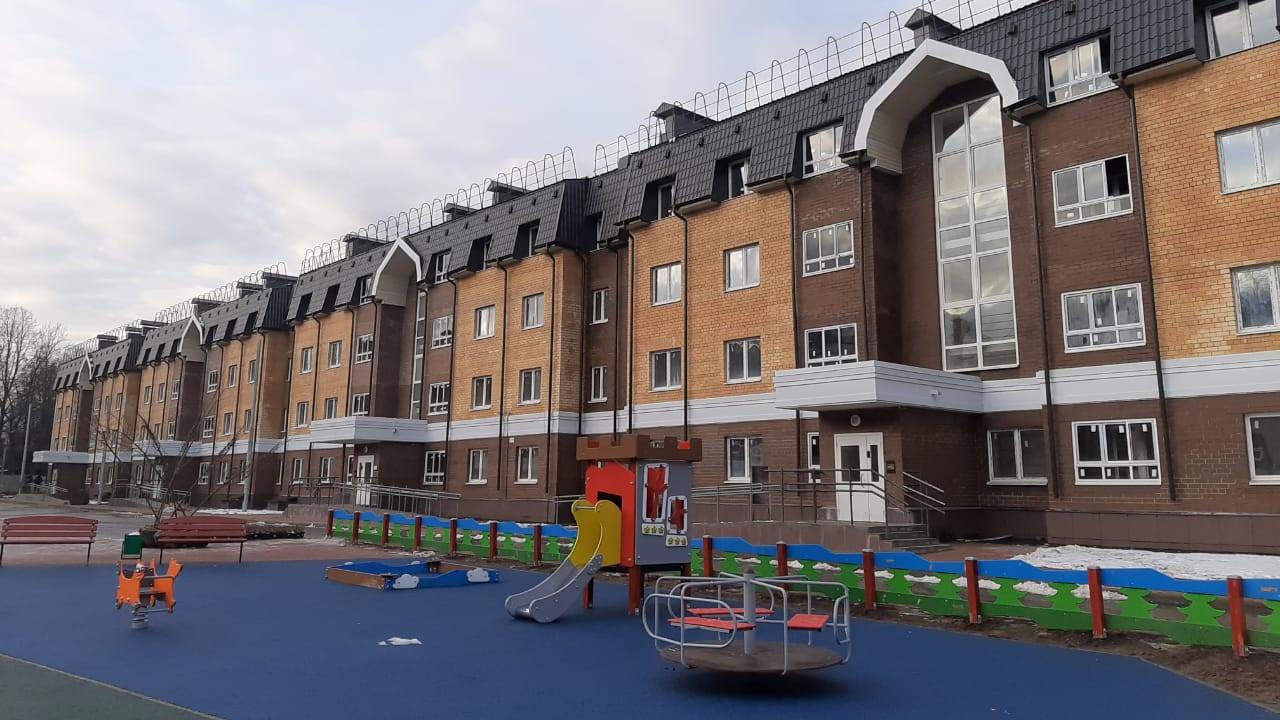 Строительство многоквартирного дома на Полевой улице в Королеве завершено
