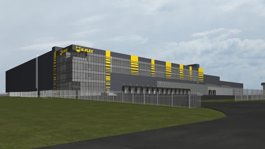 Строительство нового производственно-складского комплекса началось в Истре