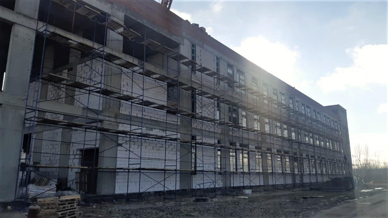 Строительство школы в Электрогорске выполнено на 46%