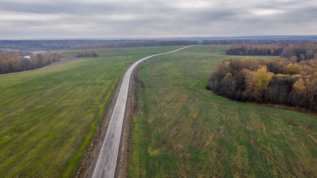 Свыше 23 км региональных дорог отремонтировали в Зарайске в рамках нацпроекта БКАД