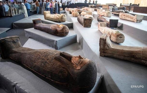 В Египте нашли более сотни 2500-летних саркофагов